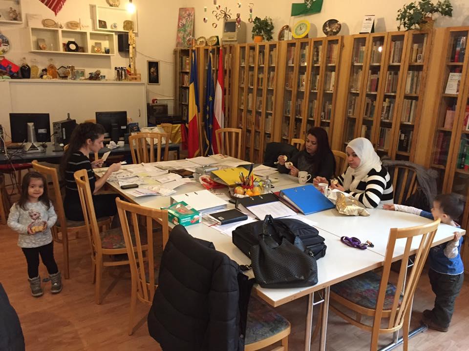 Practicante musulmance la un Centru romanesc-Praktikumsstunden