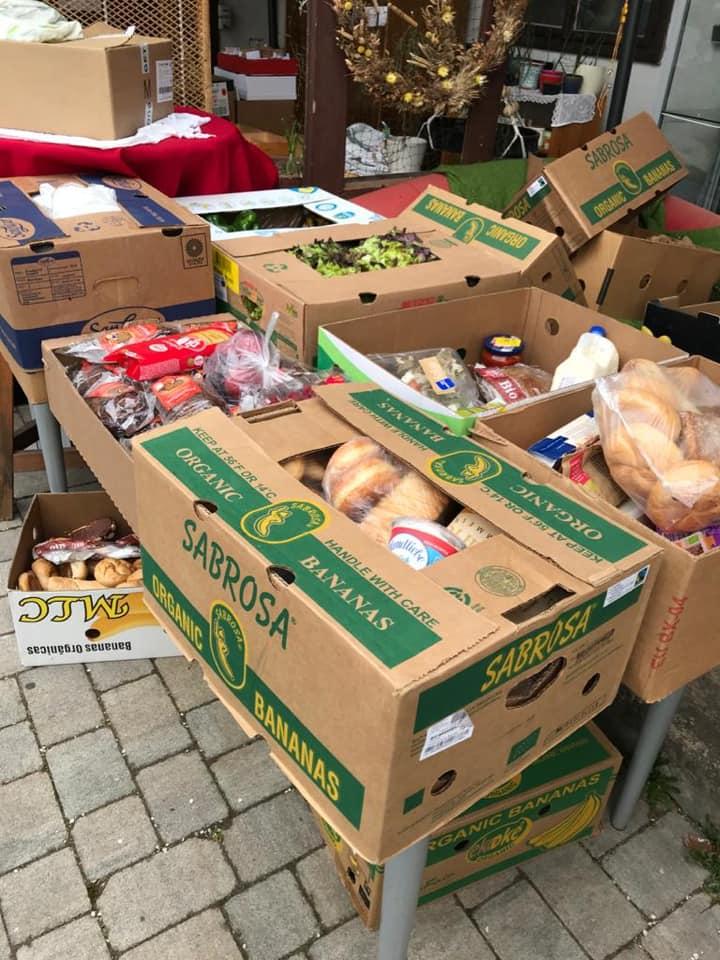 Coronavirus și distribuirea de alimente în Graz